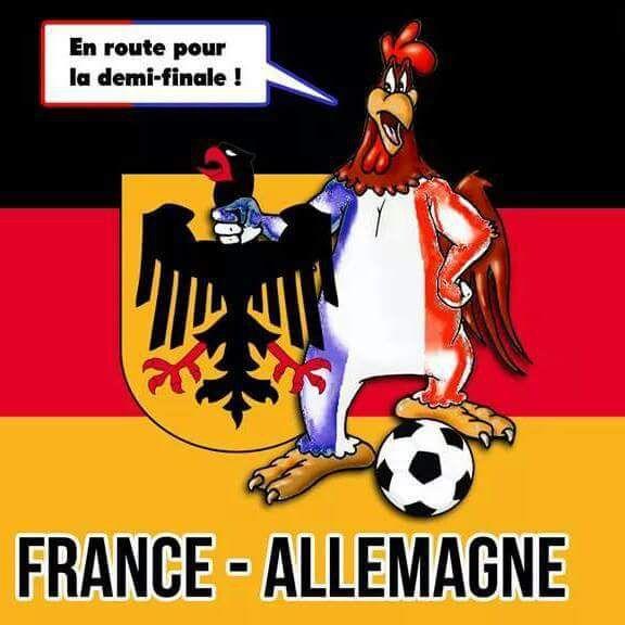 Euro 2016: Pas la défaite contre l'Allemagne