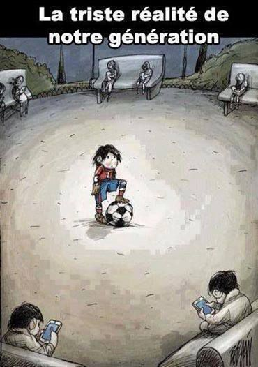 Humour Enfants: Jeux video vs football, solo vs collectif