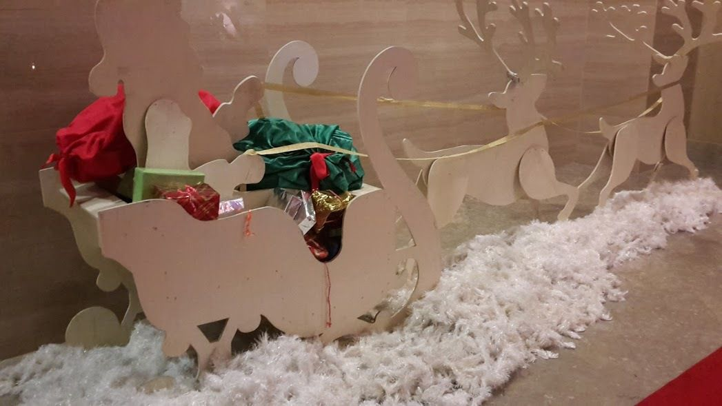 Humour Père Noël: Un rêve de gamin prolongé, presque un conte, mignon