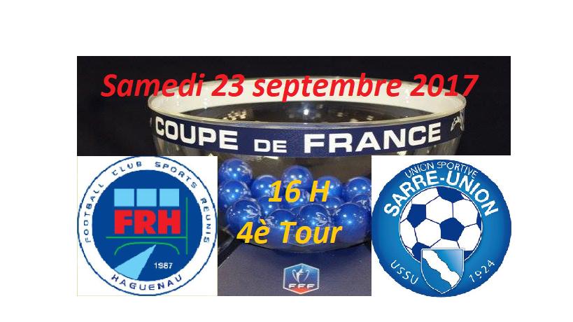 CDF 4ème tour: FR Haguenau - US Sarre-Union
