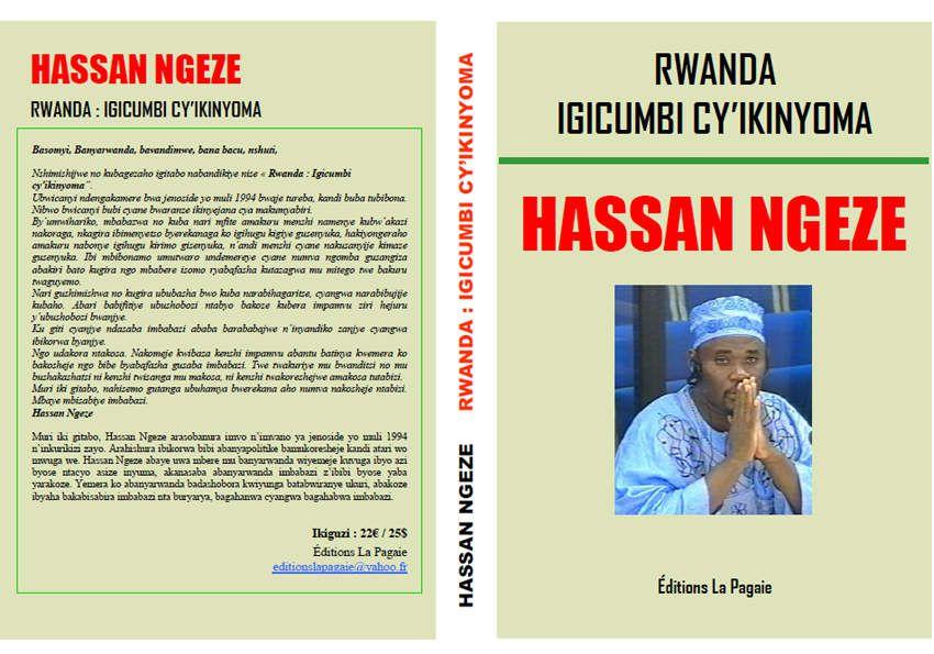 Abasomyi barabaza Éditions La Pagaie impamvu yemeye gusohora igitabo cya Hassan Ngeze