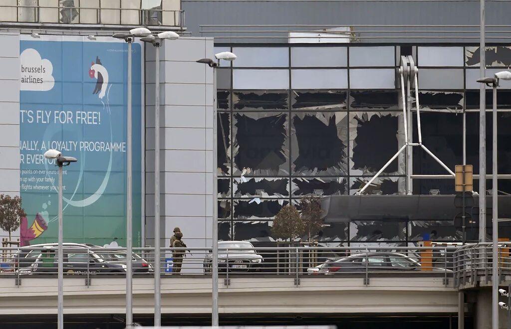 Explosions à l'aéroport de Zaventem - Bruxelles
