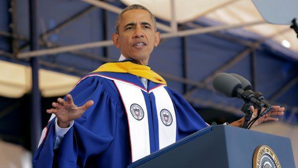 Barack Obama mesure le chemin parcouru par les Noirs aux Etats-Unis