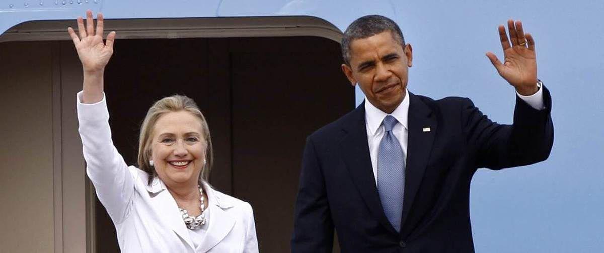 Barack Obama annonce qu'il soutient Hillary Clinton dans la course à la Maison Blanche