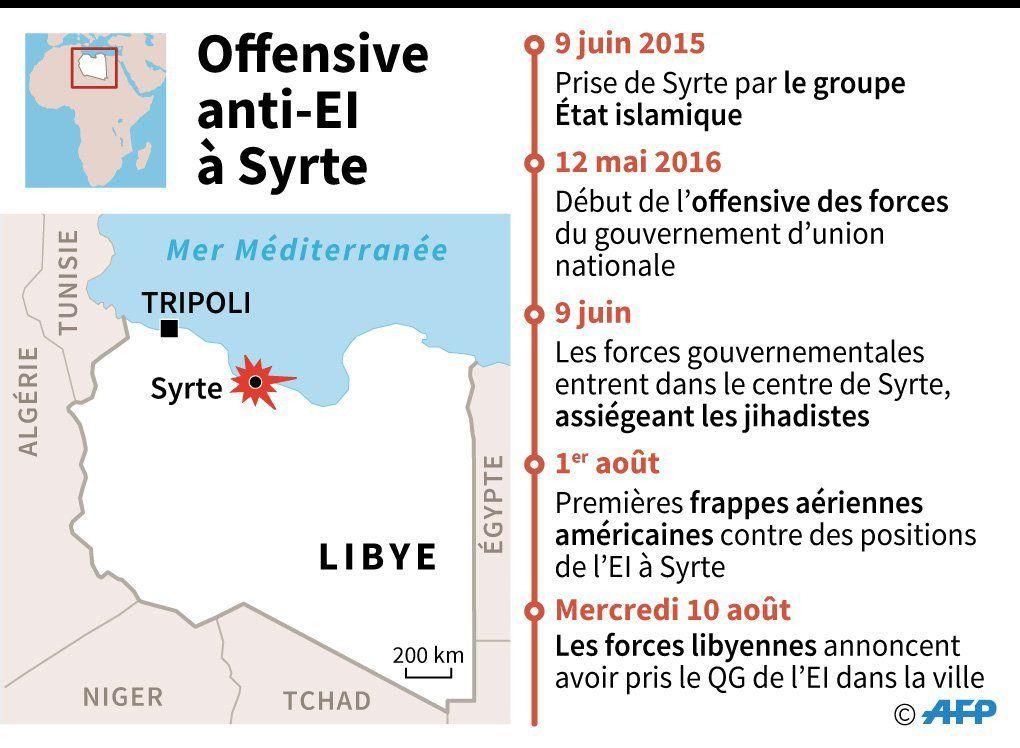 Libye : l'EI poussé dans ses derniers retranchements à Syrte