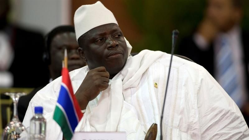 Gambia's Yahya Jammeh 'agrees to step down