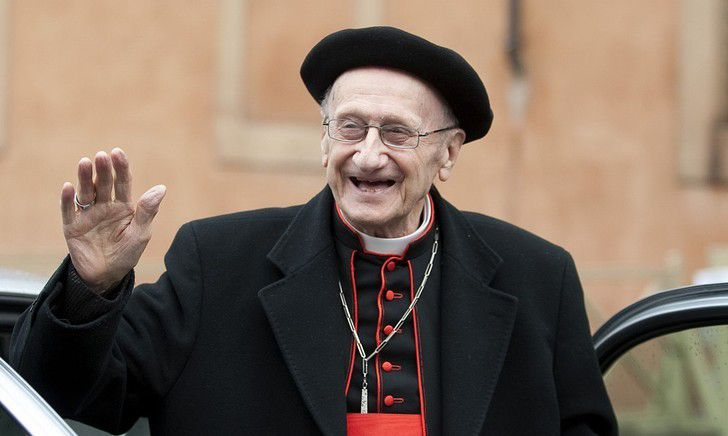 Photo du cardinal Roger Etchegaray