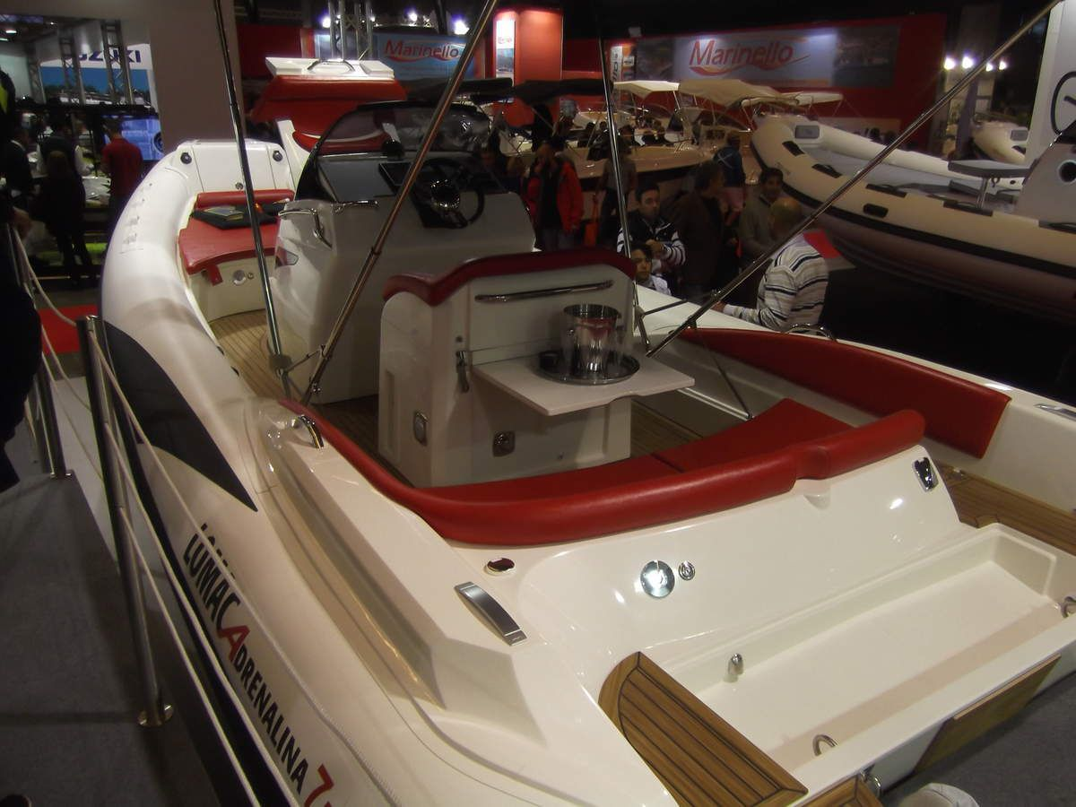 salon nautique de g nes 2015 special semi rigide