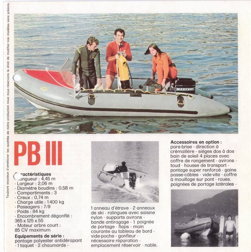 L'invention du bateau semi-rigide  PNEUBOAT ENQUETE