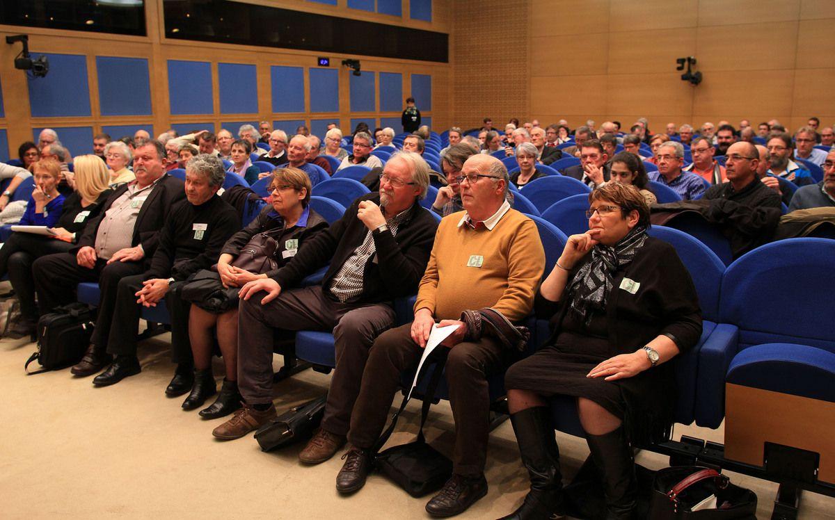 9 janvier 2017 : Une réunion pour le réseau au Palais du Luxembourg