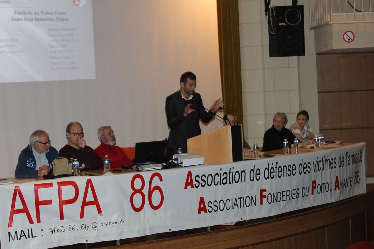 L'AFPA 86 en assemblée générale 2017.