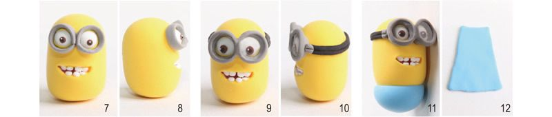 DESPICABLE ME - TUTO MINION EN FIMO