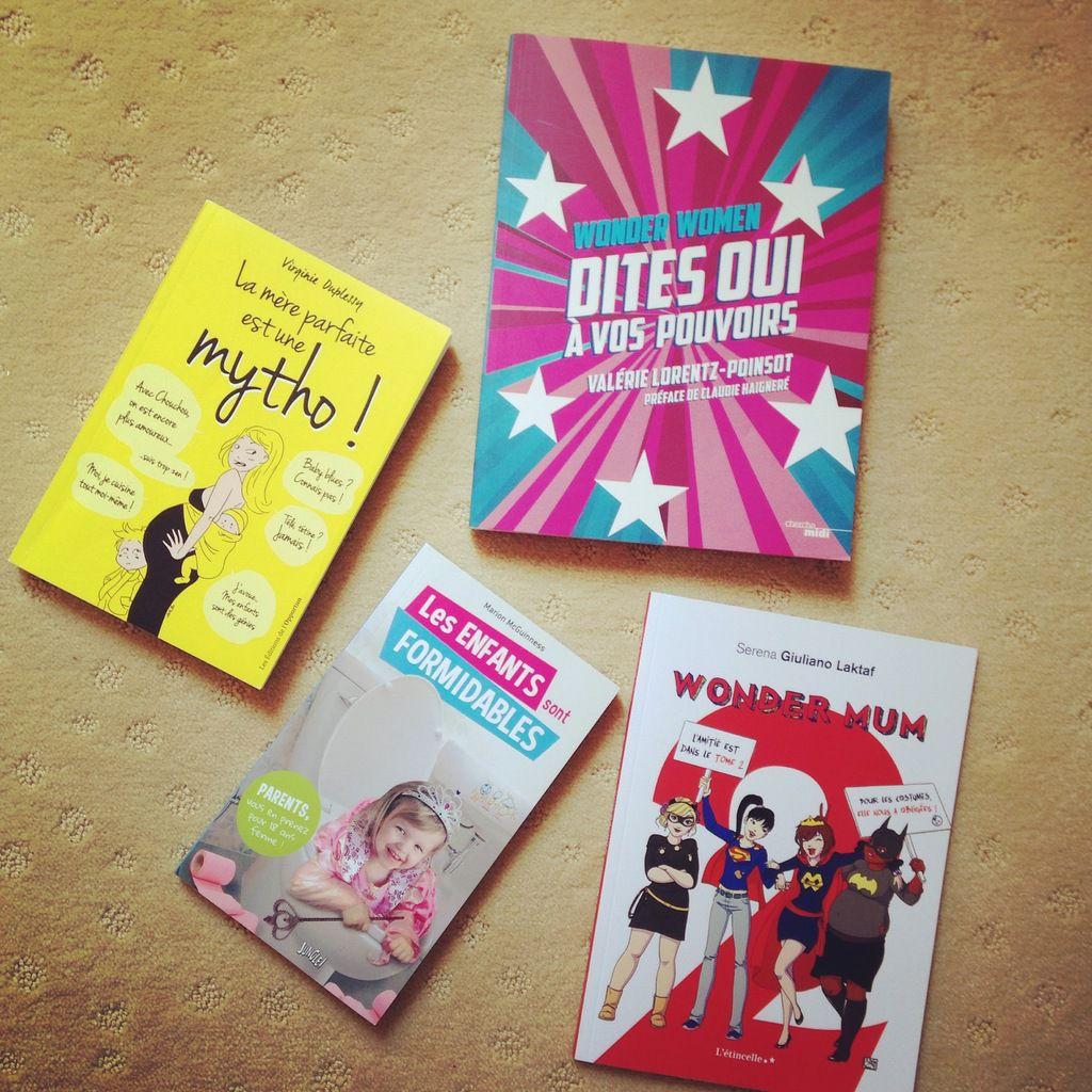 Des livres pour wonder women