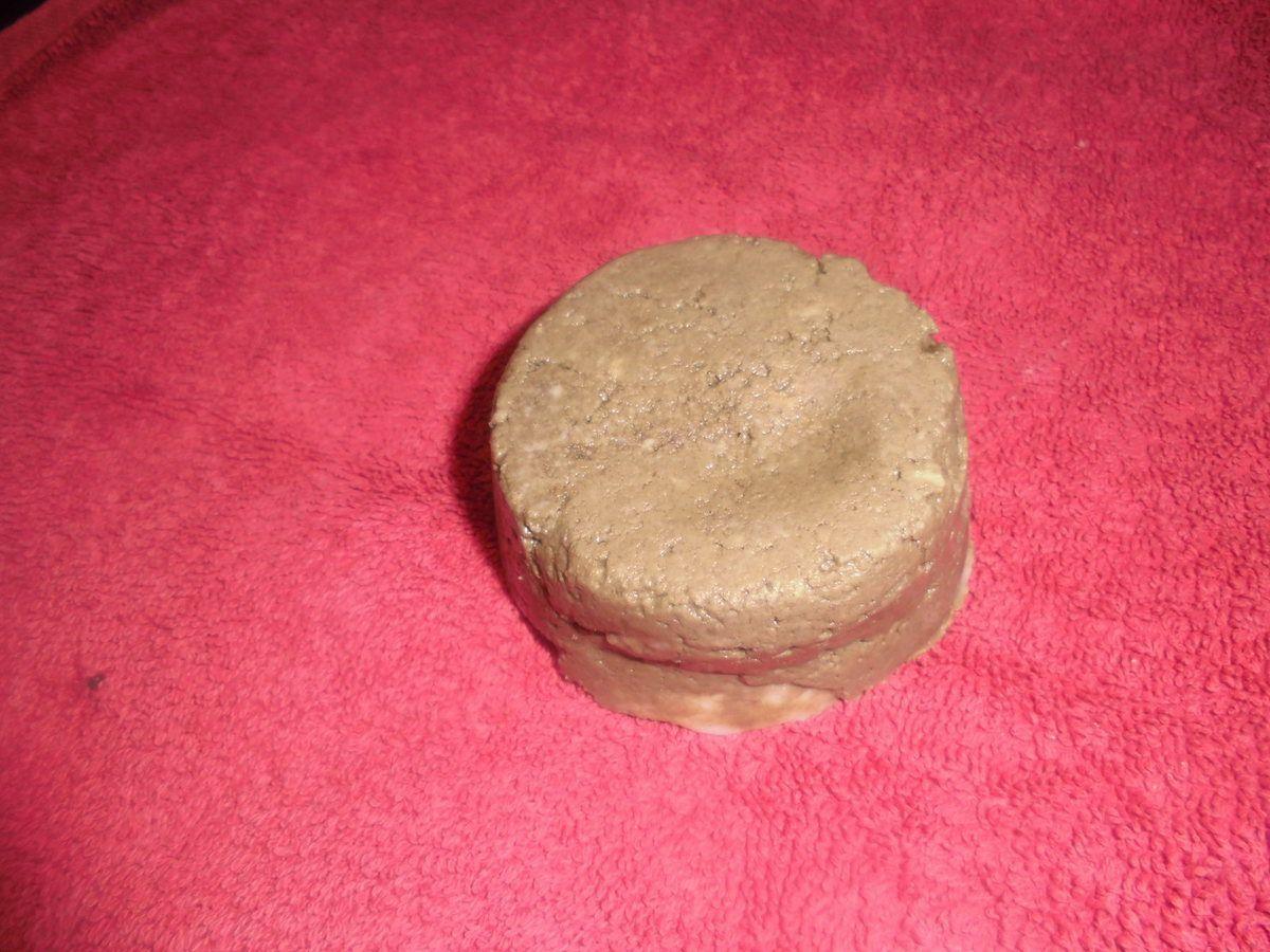 Cake shampoing assainissant à la terre de diatomée et résine de Chios