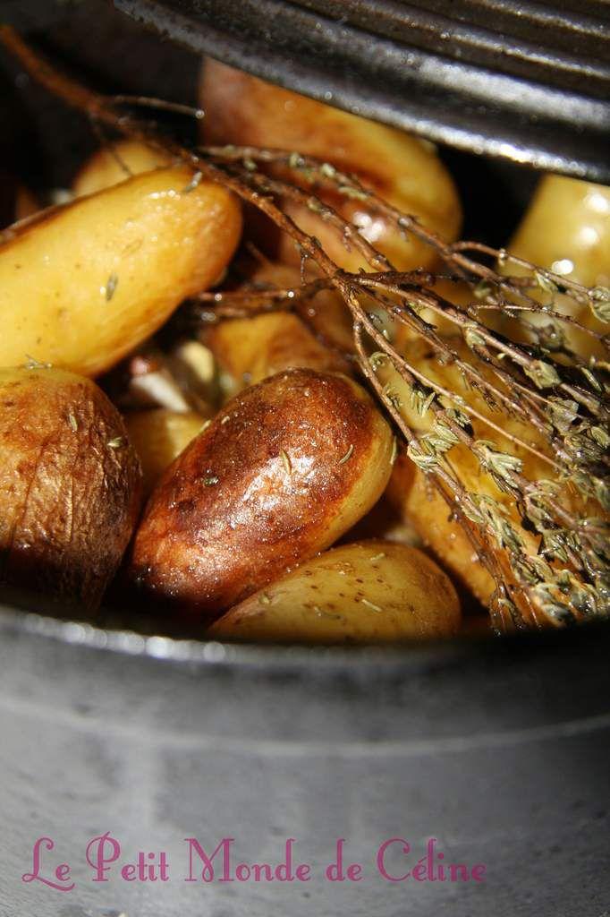 °°° Cocotte de Rattes du Touquet au thym et à l'ail °°°
