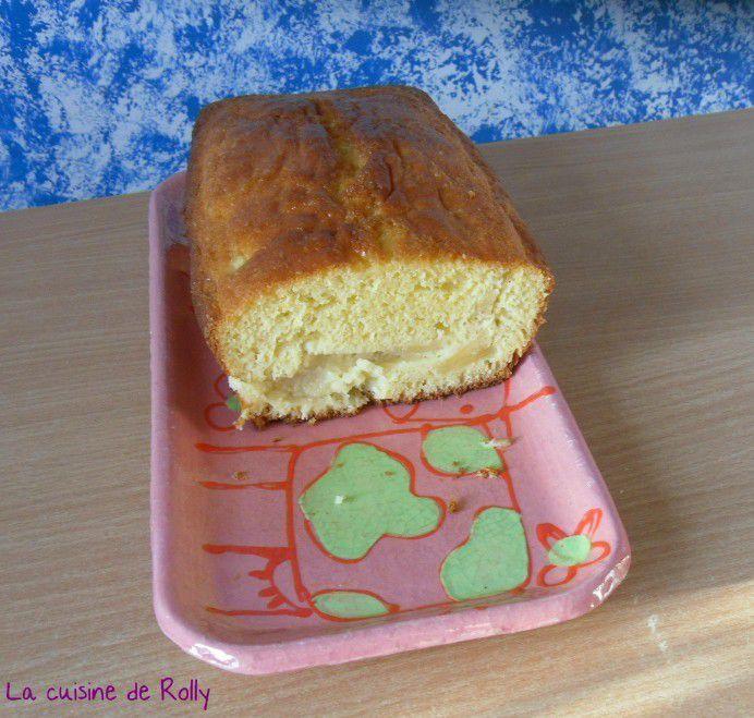 Gâteau ananas et rhum