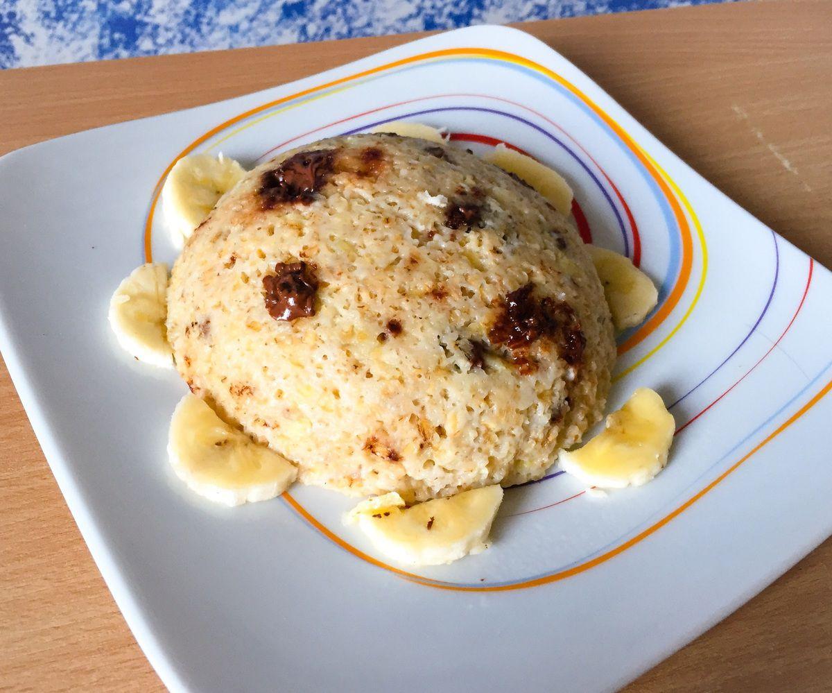 Bowlcake Healthy banane chocolat