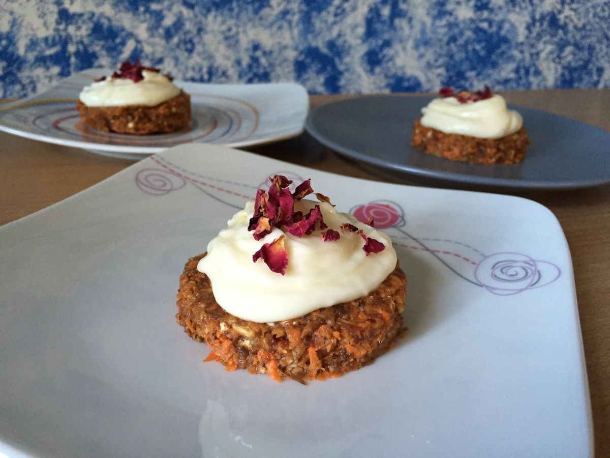 Carrot Cake sans cuisson
