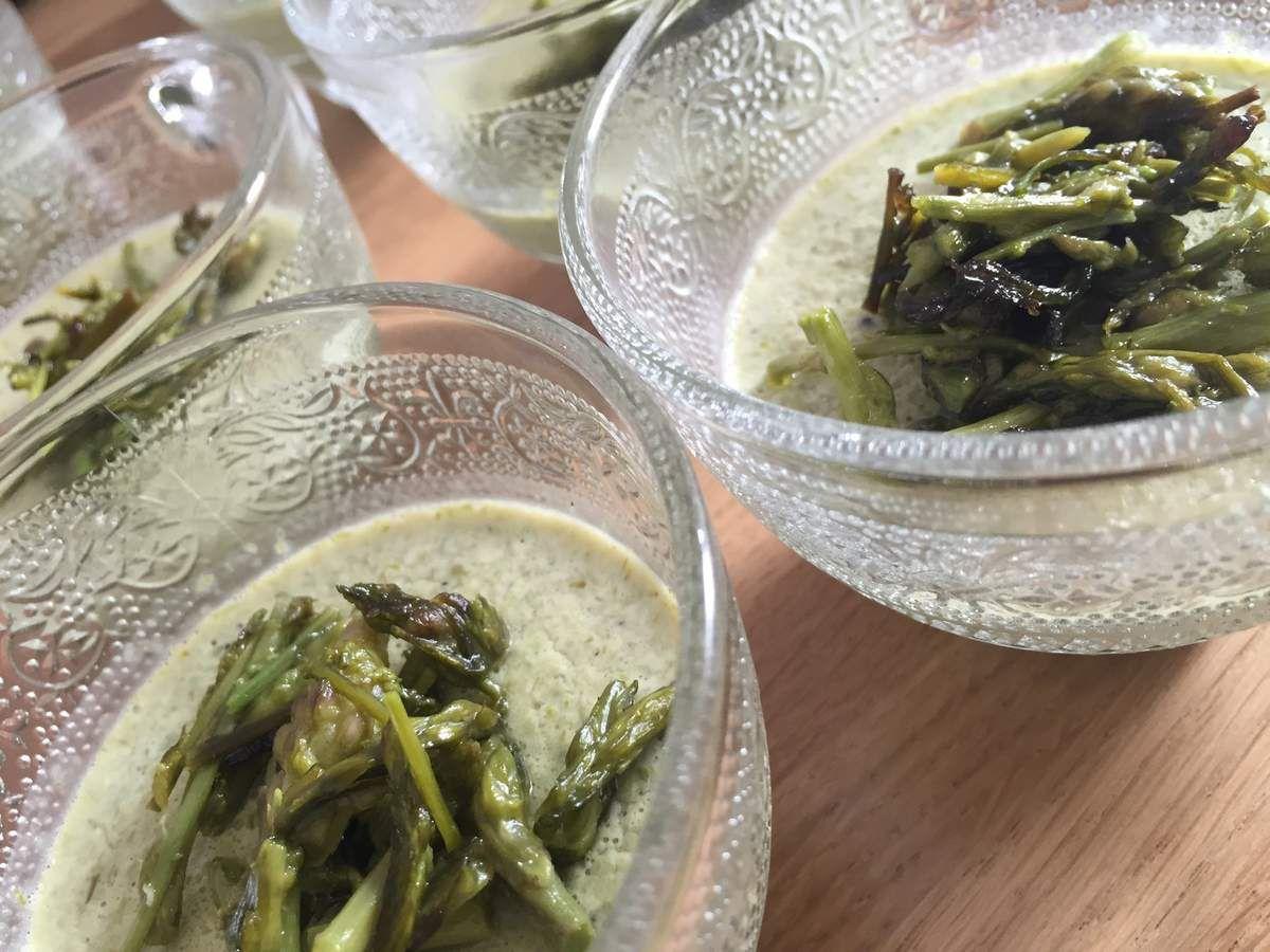 cuisiner asperges sauvages