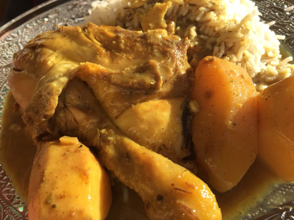 Poulet au curry cornello cuisine - Cuisine poulet au curry ...