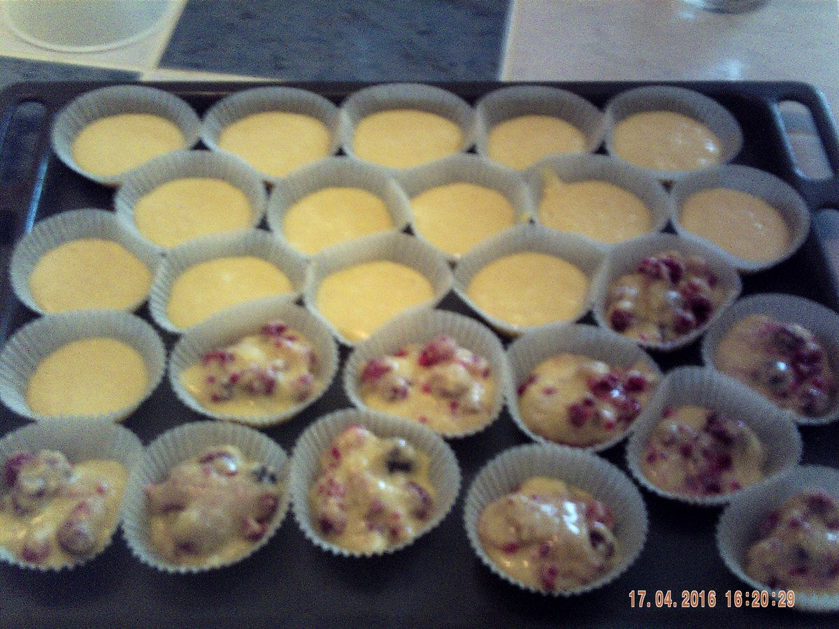 MUFFINS COCO/ FRAMBOISES....
