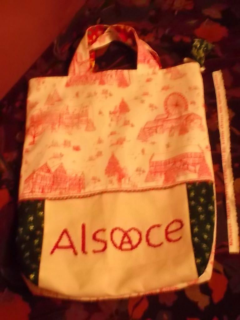 Vos réalisations : Alsace par Marie Josée