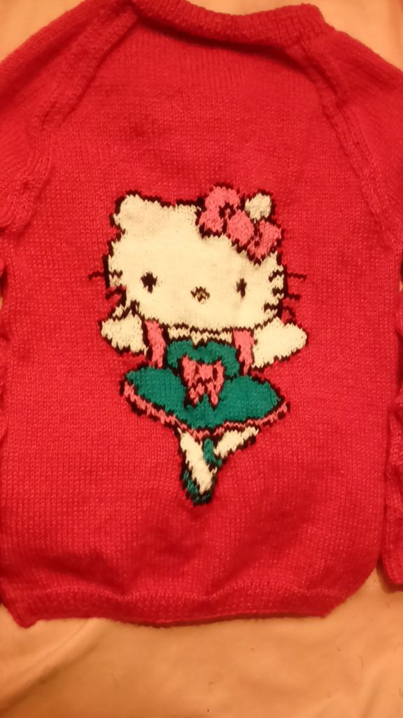 Vos réalisations : Hello Kitty par Monique