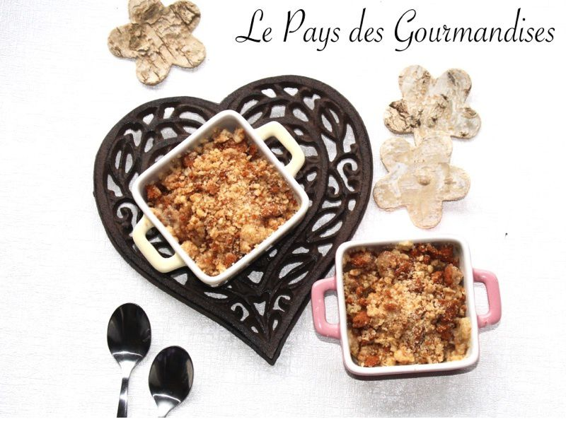 crumble rhubarbe pomme thermomix