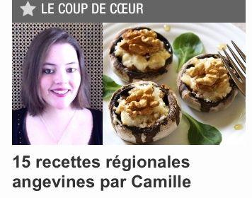 15 recettes Angevines en collaboration avec CuisineAZ