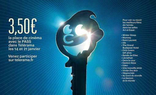 Affiche du festival Télérama 2015