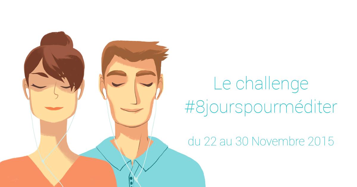 Challenge #8jourspourméditer