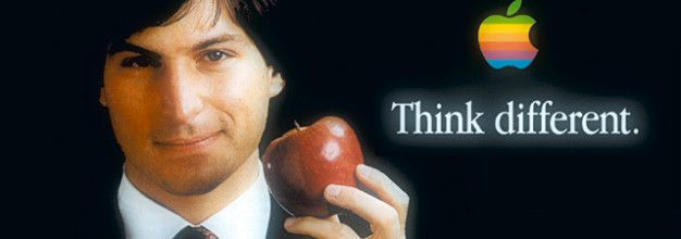 Steve Jobs, Think different (pensez différemment!)