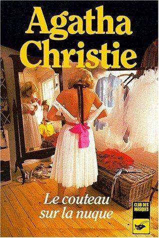"""Couverture du roman """"Le couteau sur la nuque"""" d'Agatha Christie, édition """"Club des masques"""""""
