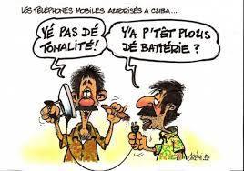 Humour: téléphone à Cuba