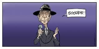 "Leonard Cohen: ""Goodbye"""