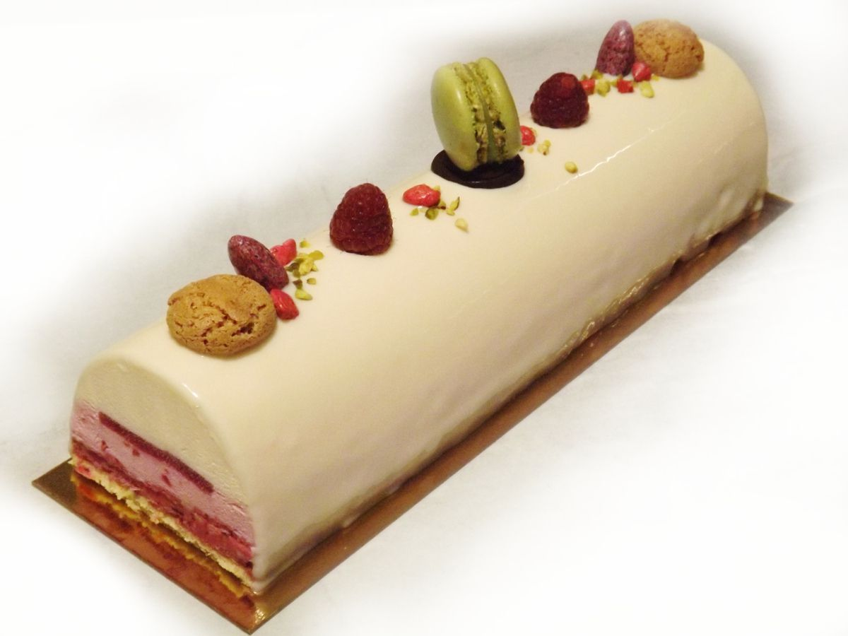 entremets citron cassis passion patisserie. Black Bedroom Furniture Sets. Home Design Ideas
