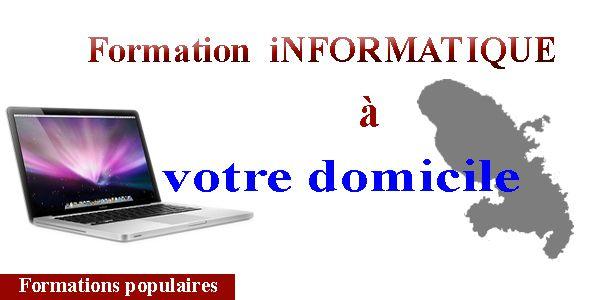 @ Formations informatiques à domicile en Martinique