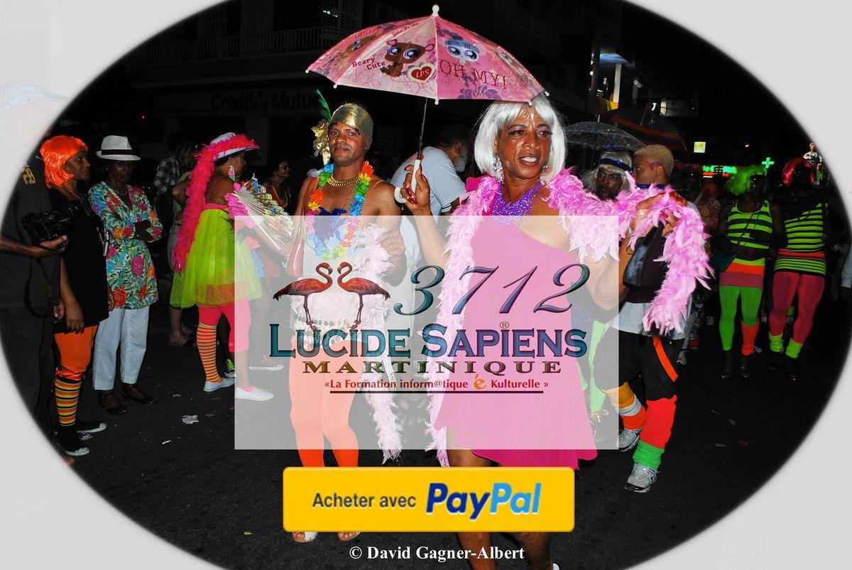 Les Makoumè du carnaval de la Martinique en photo ( Collection privée )