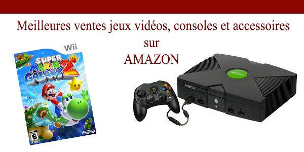 Jeux vidéos : les meilleurs ventes du moment sur Amazon