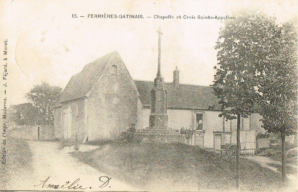 Croix de chemin, de carrefour, de cimetière et d'église en Loiret (45)