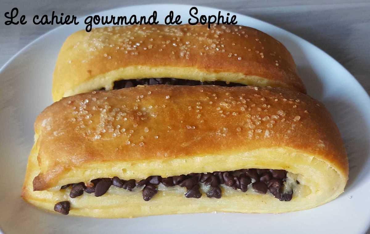Suisses à la vanille et aux pépites de chocolat (recette de C. Felder)