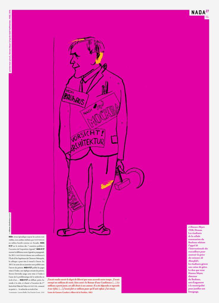 NADA n°27 - painterman contre bibendum (retour de conférence)