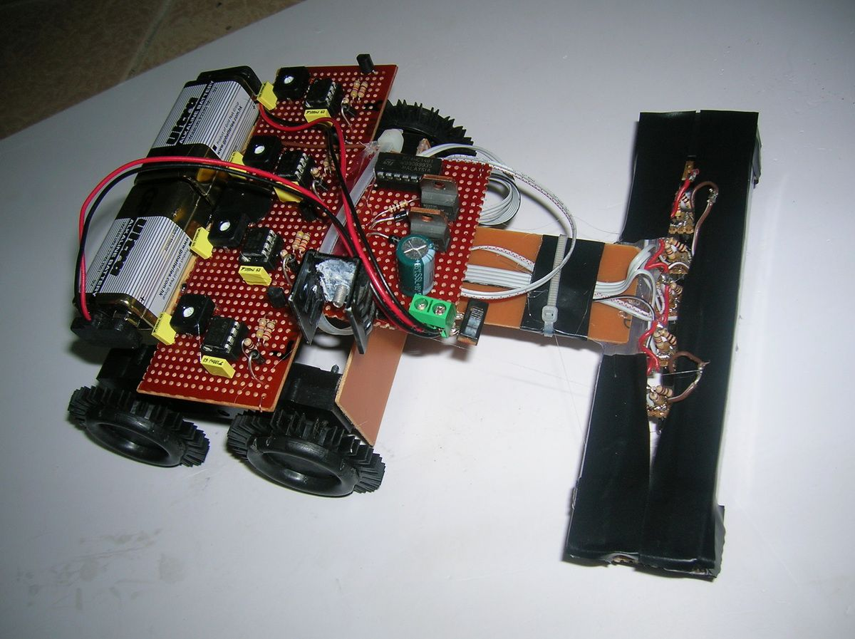 Line Follower Robot Using Microcontroller By Keptbug Technologies Scanner Schematic We At Pvt Ltd Is Providing