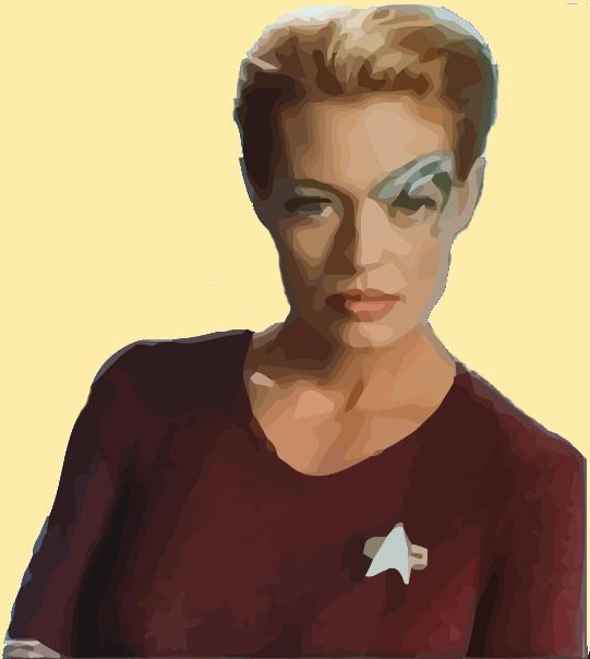 Seven of Nine is one of the best elaborated Star Trek characters ever