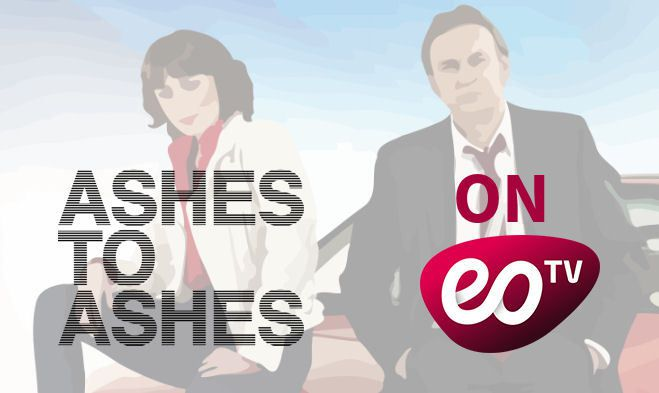 BBC-series Ashes to Ashes making it's debut in the German-speaking Free-TV