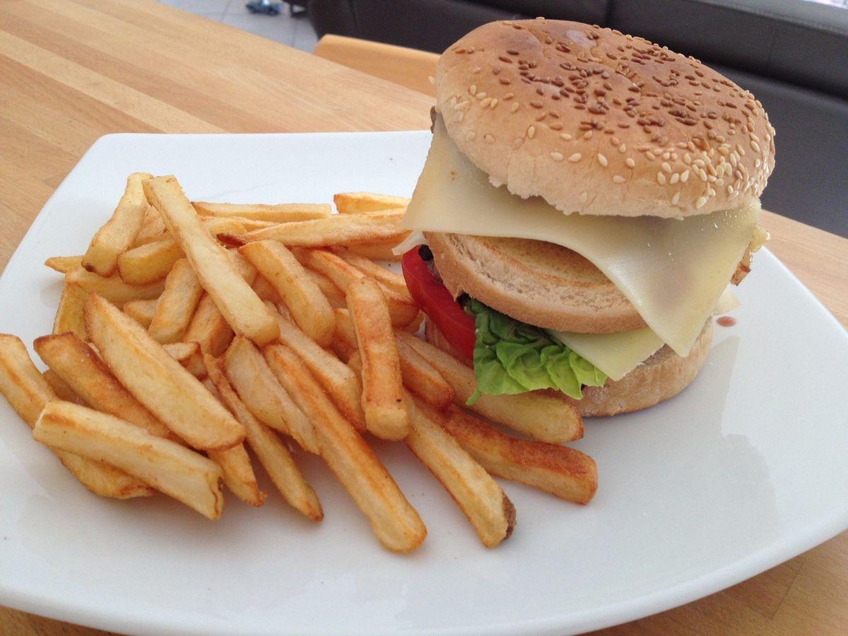 Hamburger frite !