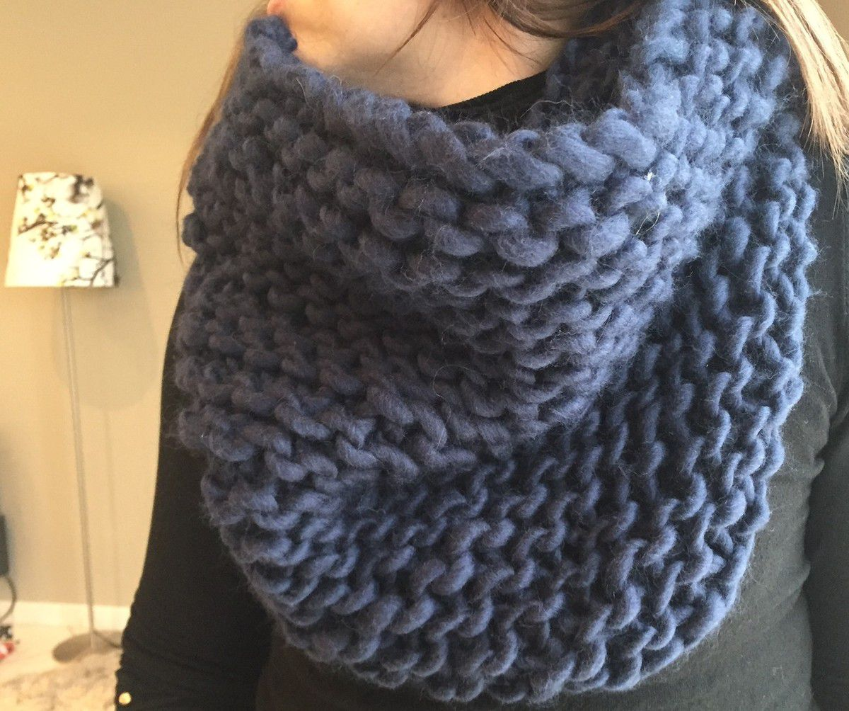 Snood Chamallow de Peace and wool !