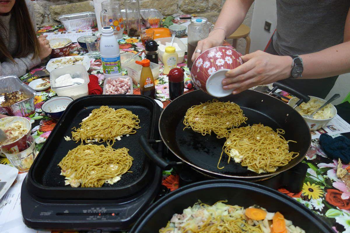 Photos de Cuisine OKONOMIYAKI