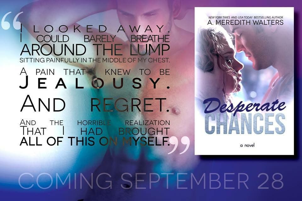 Desperate Chances by A. Meredith Walters~ My Review