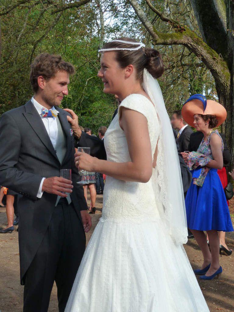 robe de mariée Constance, le jour J
